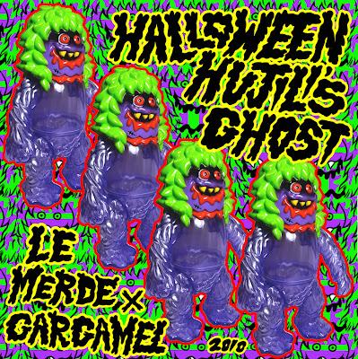 Gargamel x Le Merde Halloween Hujili's Ghost Vinyl Figure