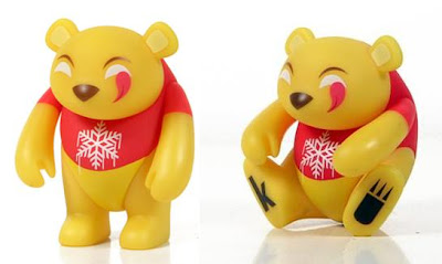 adFunture - myplasticheart Exclusive Holiday Yoka Vinyl Figure by kaNO