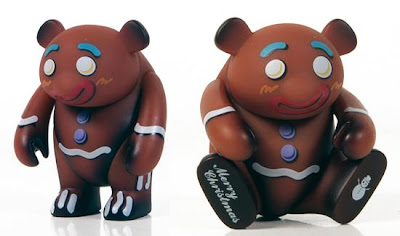 myplasticheart Exclusive Gingerbread Yoka Vinyl Figure by adFunture