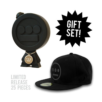 Gold Coin x Hieroglyphics All Black Hieroman & New Era Box Set