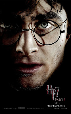 Harry Potter and the Deathly Hallows Part 1 Portrait Movie Poster Set - Daniel Radcliffe as Harry Potter