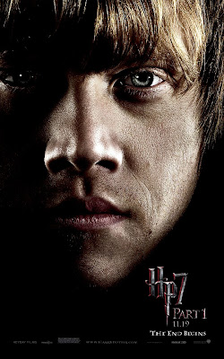 Harry Potter and the Deathly Hallows Part 1 Portrait Movie Poster Set - Rupert Grint as Ron Weasley