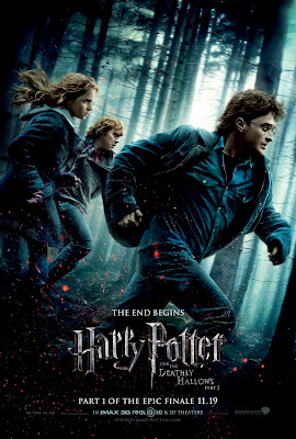 Harry Potter and the Deathly Hallows: Part I Final One Sheet Movie Poster - The End Begins
