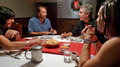 Anthony Bourdain: No Reservations 2010 Holiday Special - Tony's holiday dinner with Marky Ramone