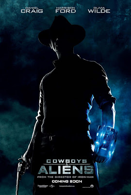 Cowboys & Aliens One Sheet Teaser Movie Poster #2