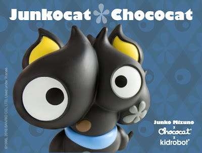 Kidrobot x Sanrio Junkocat Chococat Vinyl Figure by Junko Mizuno