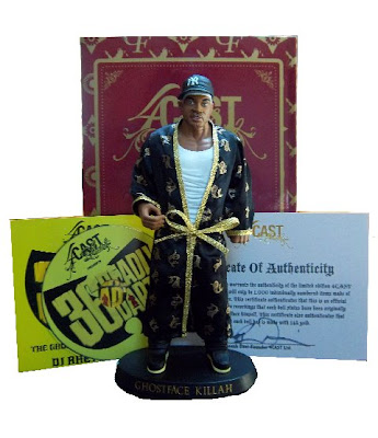 The Black Cream Edition Ghostface Killah Doll by 4CAST