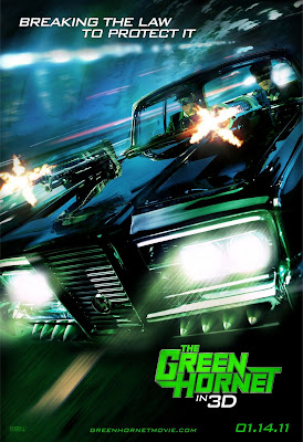 The Green Hornet Teaser One Sheet Movie Poster