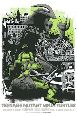 Regular Edition Teenage Mutant Ninja Turtles Movie Screen Print by Jeff Proctor