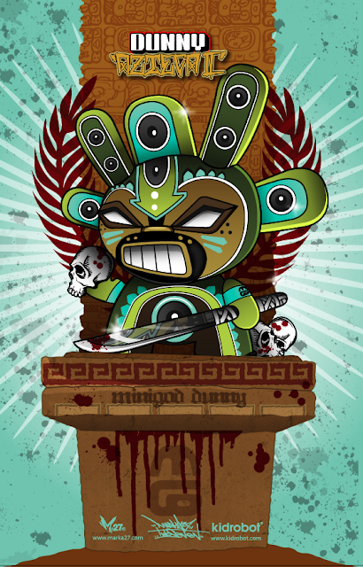 Minigod Dunny 11&#8221;x17&#8221; Poster by Marka27
