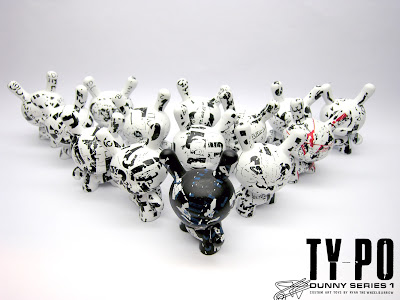 Ty_po Custom Dunny Series 1 by Ryan the Wheelbarrow