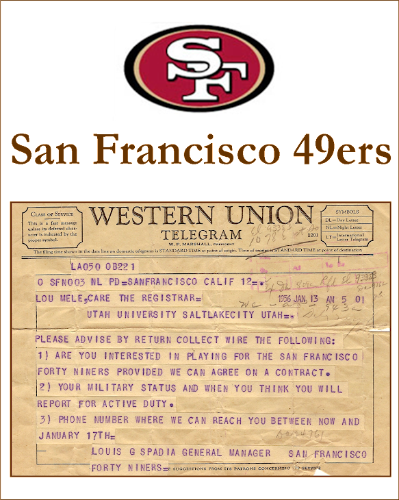 San Francisco 49ers Telegram