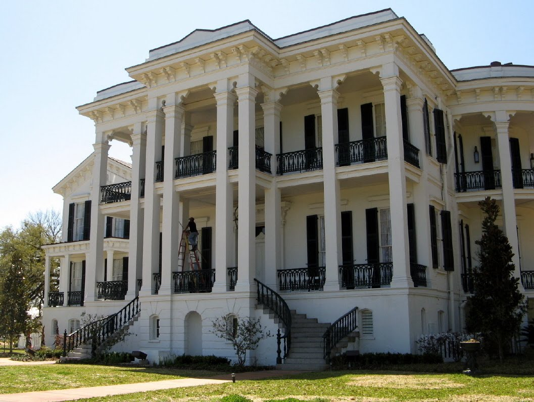 Mary 39 s ramblin 39 s nottoway plantation house and history for Plantation house