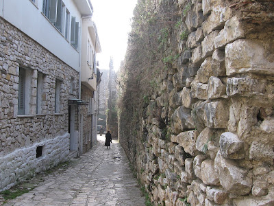 narrow street, Ioannina old town area