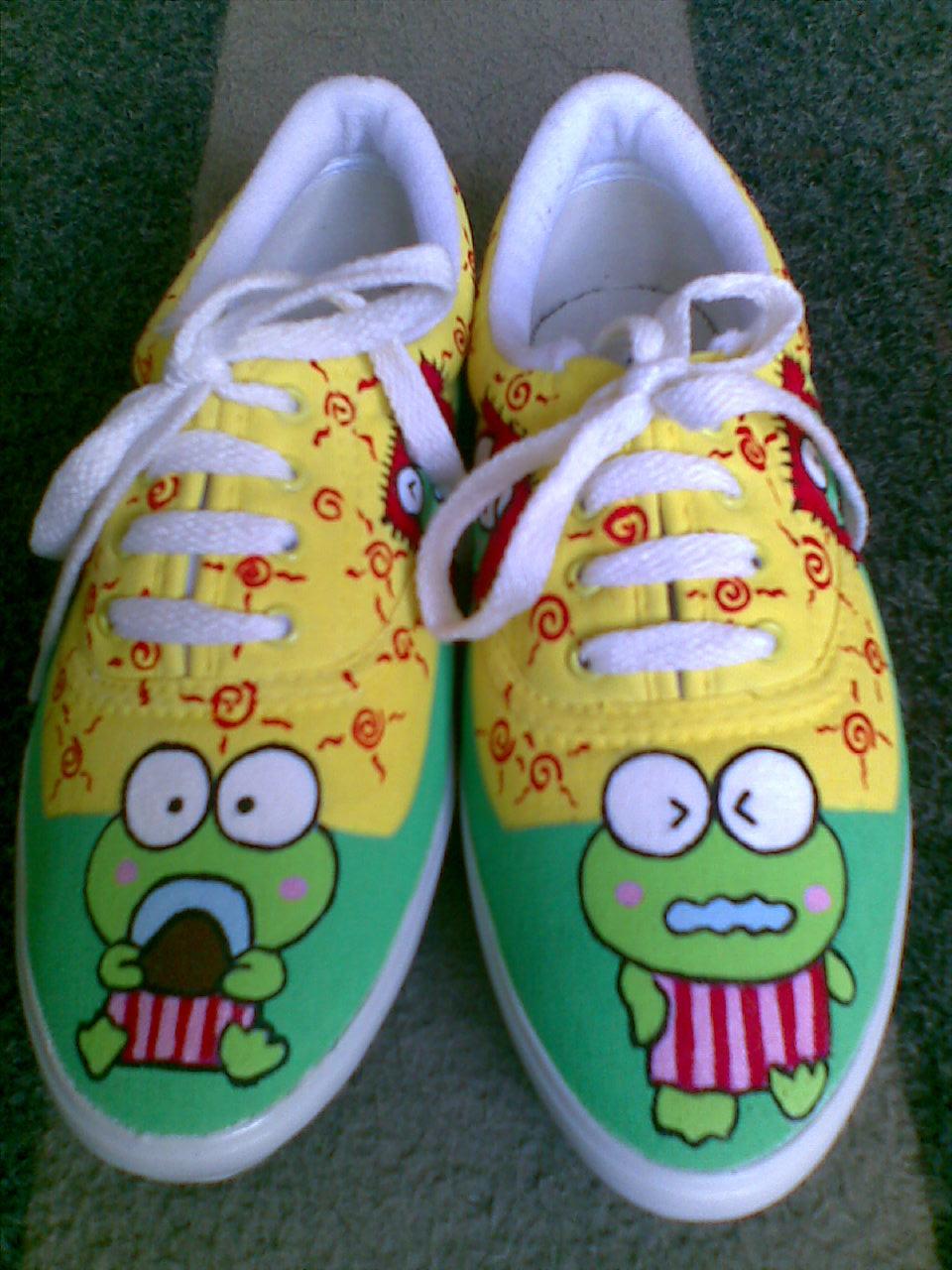 Sepatu Lukis Piwie