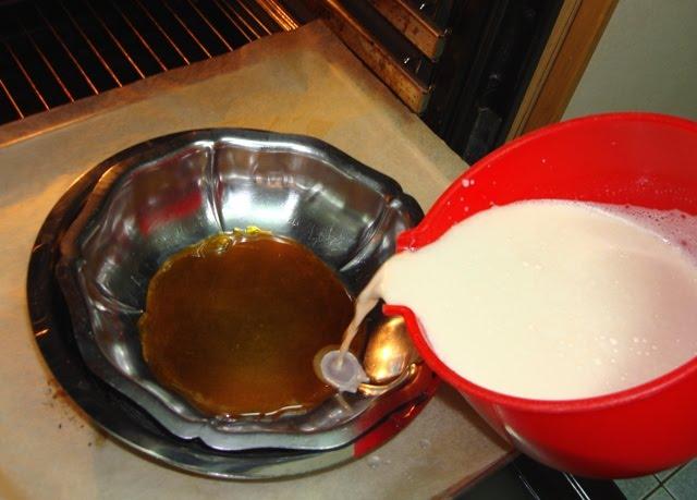 Inventos de cocina flan de leche condensada - Como se hace el flan de huevo al bano maria ...