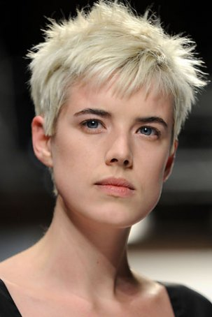 agyness deyn hair. too much Agyness Deyn.