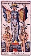 le diable signification tarot arcanes majeurs
