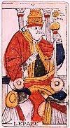 pape signification tarot divinatoire marseille interpretation