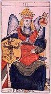 imperatrice tarot divinatoire signification interpretation