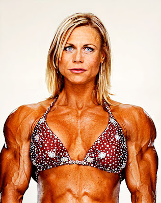 Martin Schoeller Female body-builders