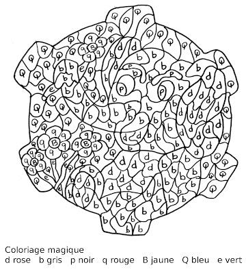 Maternelle coloriage magique l 39 l phant et la fleur - Coloriage magique elephant ...