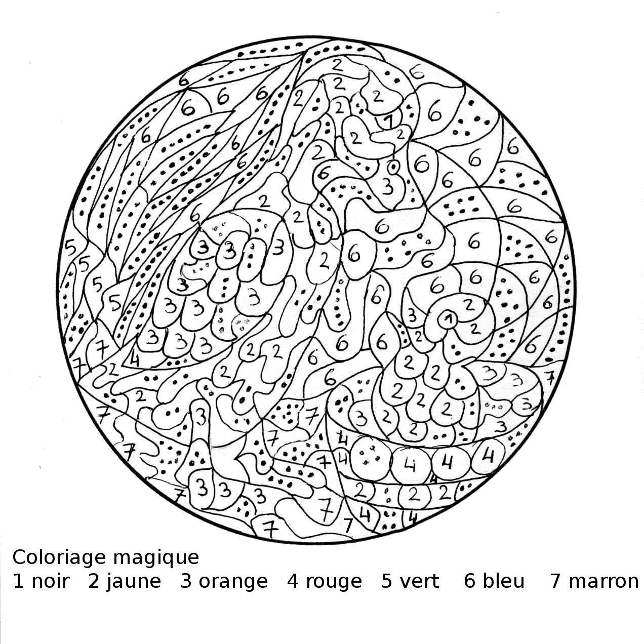 Coloriage magique maman cane et son caneton picture to pin - Coloriage magique son ...