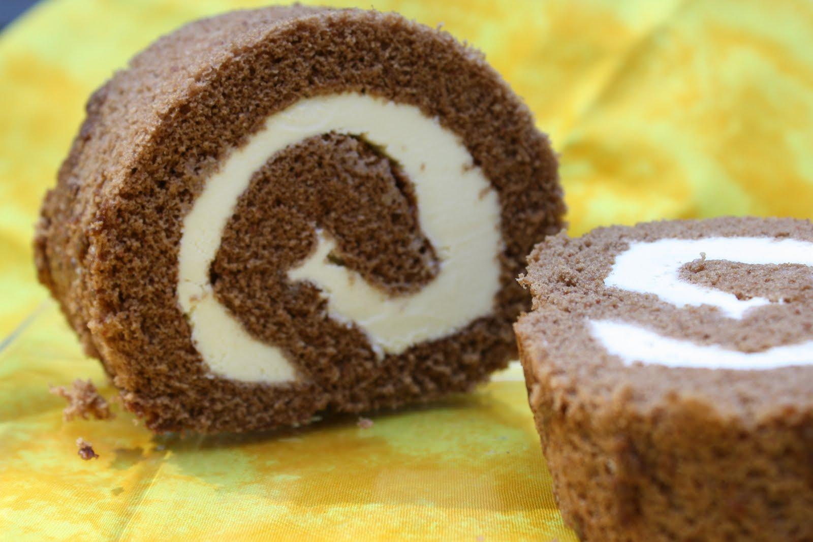 Cake Recipe: Cake And Ice Cream Roll Recipe