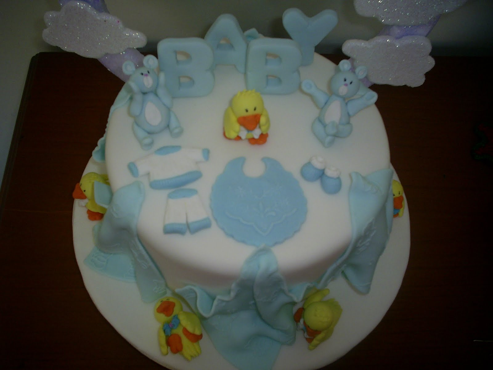 Baby Shower de varon