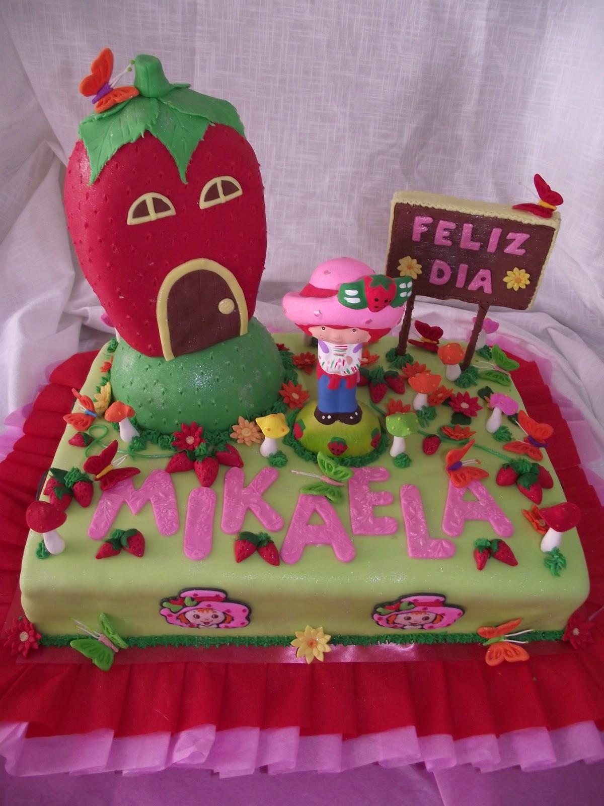 Tortas de fresita BEBE - Imagui