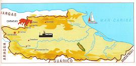 Mapa del Estado Miranda