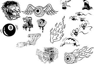 pin rat fink cartoon tattoo on pinterest. Black Bedroom Furniture Sets. Home Design Ideas