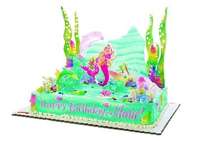 Mermaid Barbie Cake Ideas