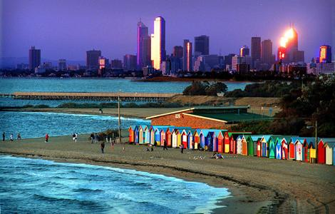 Brighton Beach – located in Brighton, a coastal suburb of Adelaide, in South Australia