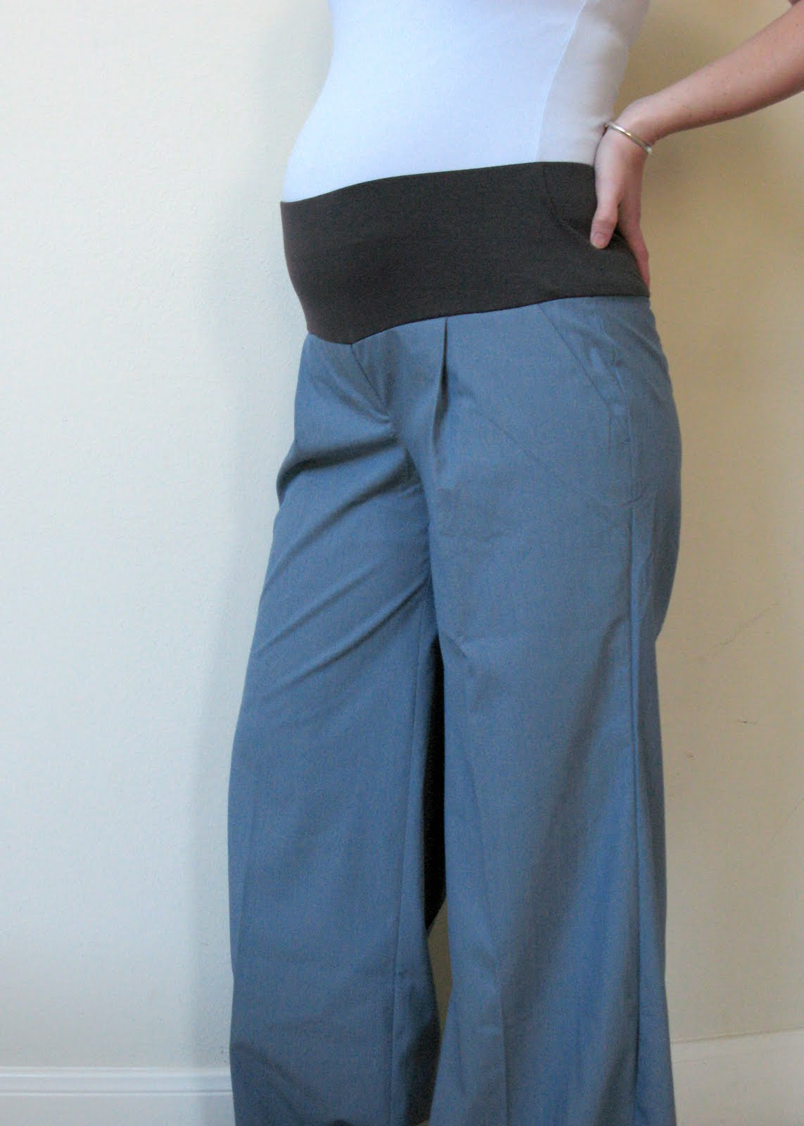 Modest Maven: Converted Maternity Pants Tutorial