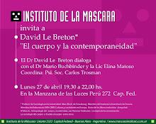 Diálogo entre el Dr Le Breton y el Dr Buchbinder y la Lic.Elina Matoso.