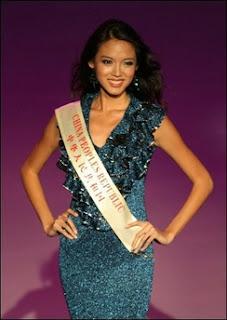 miss mundo 2007 foto zhang zilin