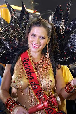 bella mujer en carnavales del rio janerio brasil 2008