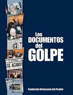 Descarga Documentos del Golpe 11 de abril 2002 articulos de opinión, reportajes, publicidades, columnas, titulares, caricaturas