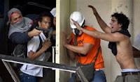 vandalos armados violencia en caraca ucv