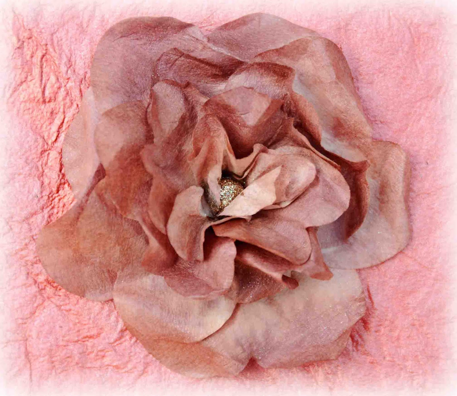 What A Beautiful Mess Coffee Filter Rose Tutorial