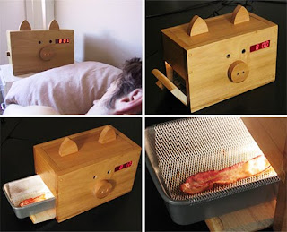 Wake 'n Bacon alarm clock