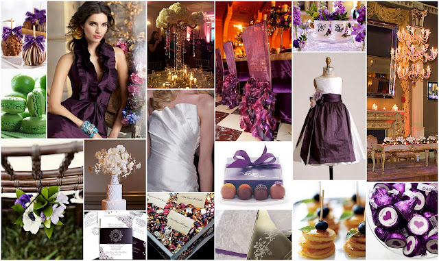 Mrs Prindables Handmade Confections Eggplant Pleated Halter Bridesmaid