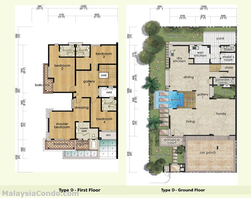 Desa Idaman Floor Plan Desa Idaman Residences