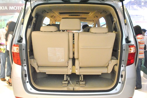 2011 Toyota Alphard Luxury MPV Rear View