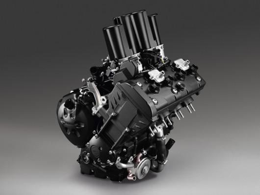 Yamaha Introduces FZ8 and Fazer8 Engine View
