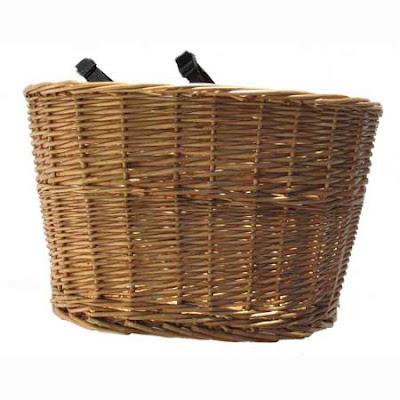 Bike Baskets on Spiffy Yakkay Paris Helmet And Obviously A Wicker Basket