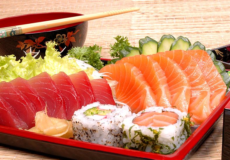 D o n n a c h e f a tradicional gastronomia japonesa for Mesa japonesa tradicional