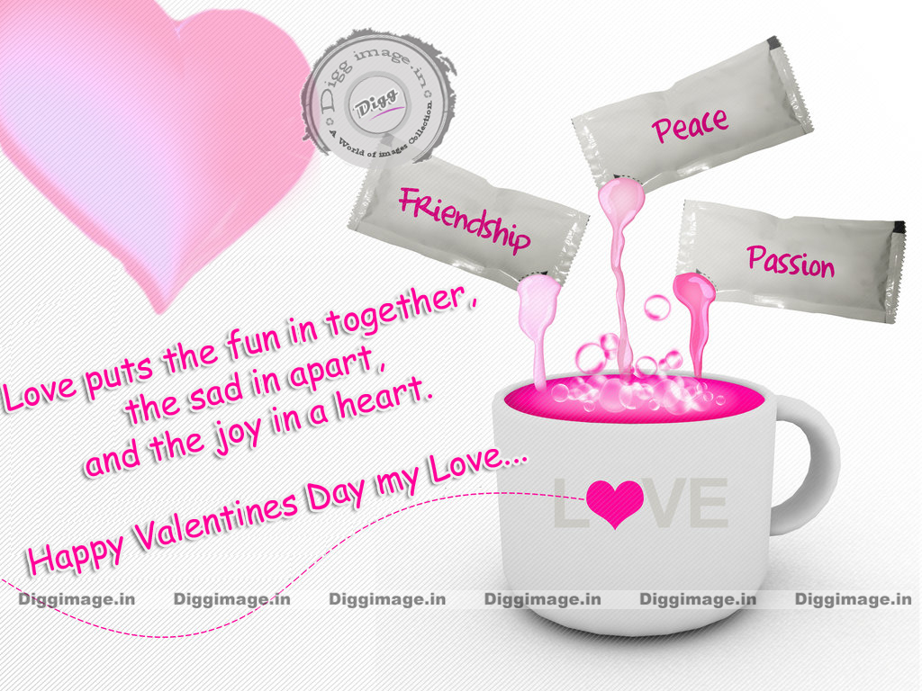 Love Puts The Fun In Together The Sad In Happy Valentines Day