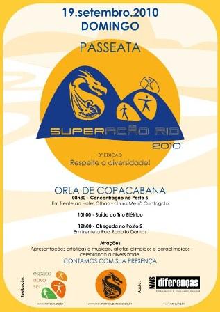 ESSA FOI A NOSSA GRANDE FESTA SOB PASSEATA DE COPACABANA QUE COMEÇOU EM 2008